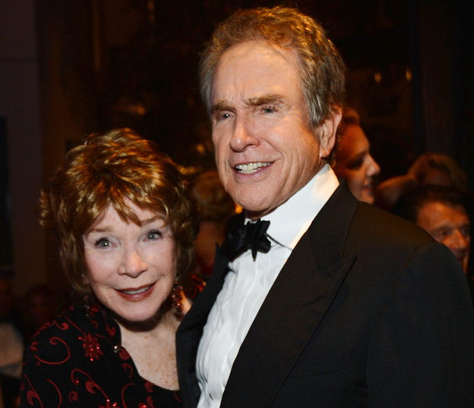शर्ली MacLaine and Warren Beatty