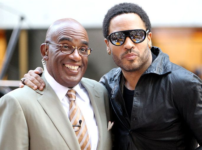 अल Roker and Lenny Kravitz