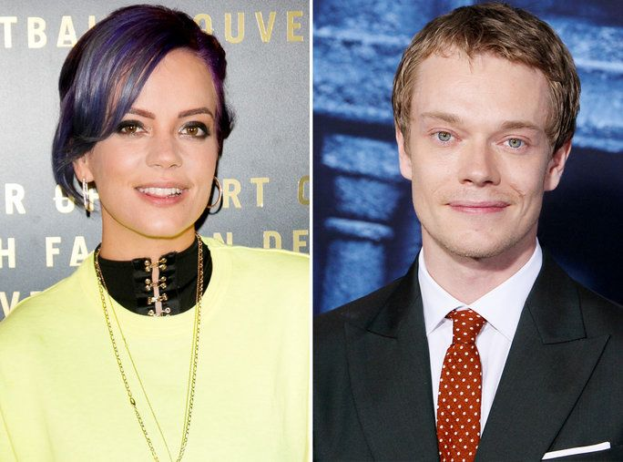 लिली Allen and Alfie Allen