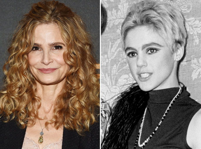 एडी Sedgwick and Kyra Sedgwick