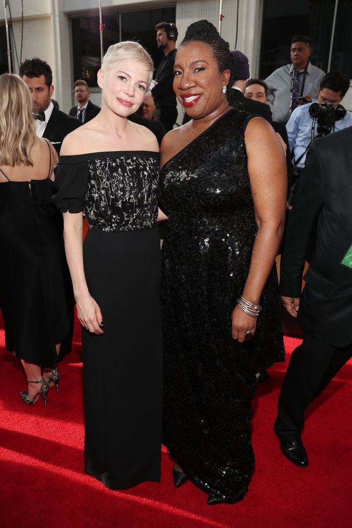 มิเชล Williams Tarana Burke Golden Globes