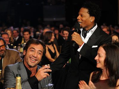 जेवियर Bardem, C'Mon, Tell Us, What Was the First Award You Ever Won?