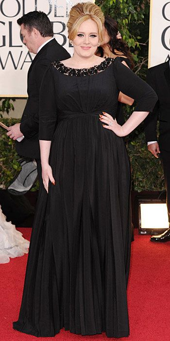 Adele - Burberry gown