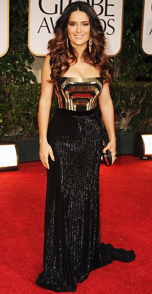 ซัลม่า Hayek - Golden Globes - Gucci