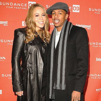 Mariah Carey and Nick Cannon, Premiere of Push, Red Carpet Report, 2009 Sundance Film Festival
