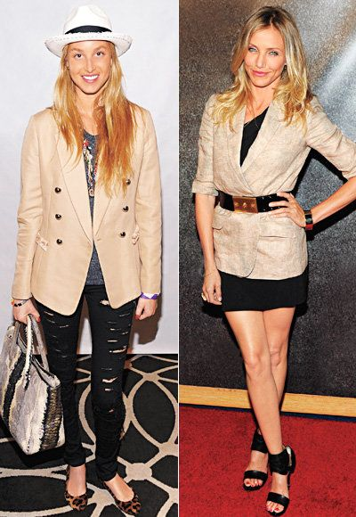 ऊंट Blazer - Cameron Diaz - Whitney Port
