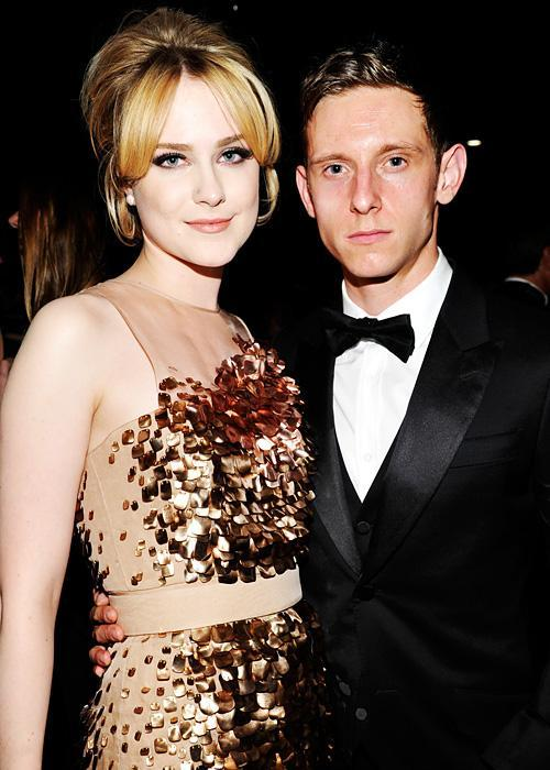 ชื่อเสียง Wedding Photos - Evan Rachel Wood and Jamie Bell