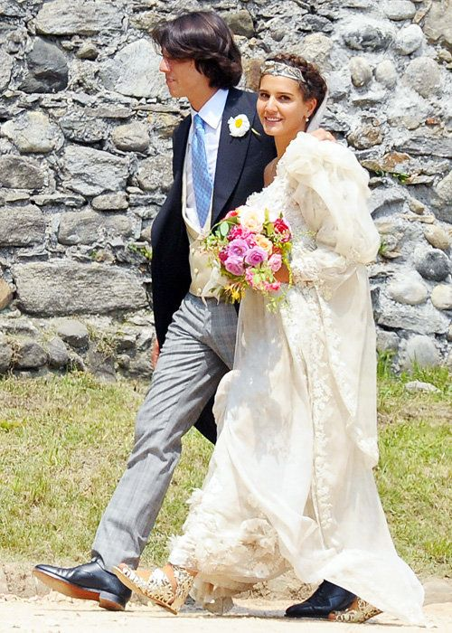 ชื่อเสียง Wedding Photos - Margherita Missoni and Eugenio Amos