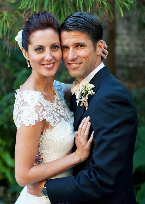 ชื่อเสียง Wedding Photos - Eva Amurri and Kyle Martino