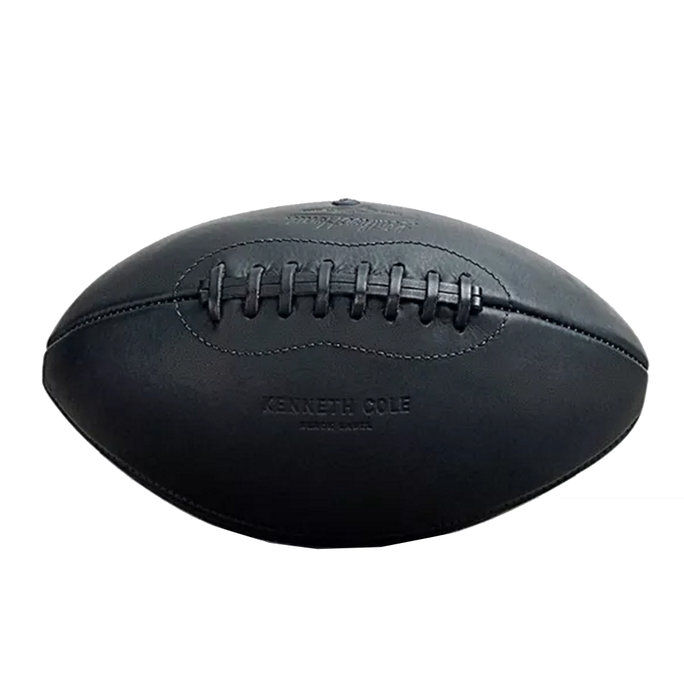 สีดำ Leather Football Kenneth Cole