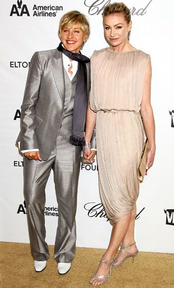 अधिकांश Stylish Couples, Ellen DeGeneres & Portia de Rossi