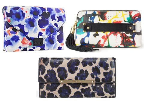 สดใส Patterned Clutches