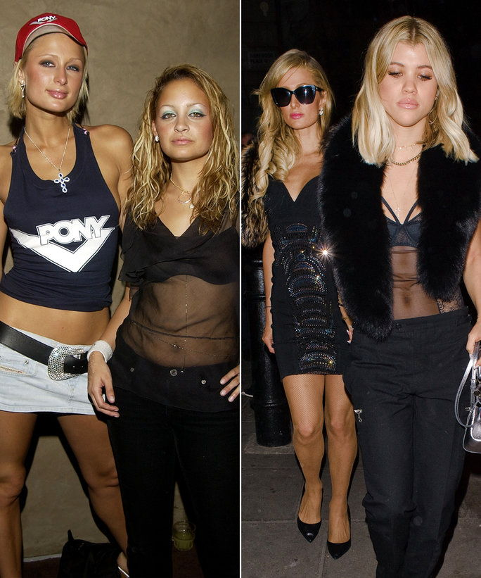 โซเฟีย Richie & Nicole Richie - Paris Hilton Friendship - LEAD