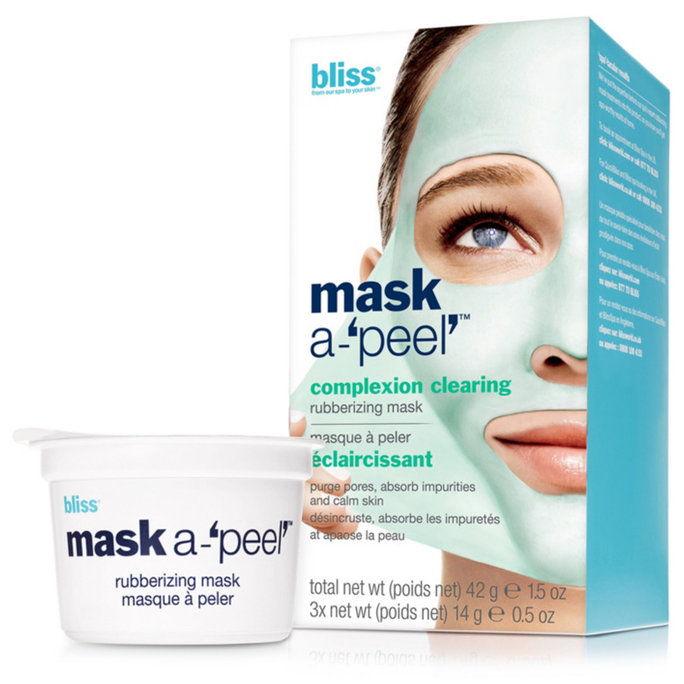 परमानंद Mask-A-Peel Complexion Clearing Rubberizing Mask
