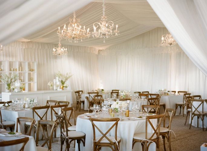 ขาว Weddings Venue Chairs - Embed