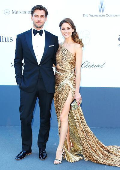 स्टाइलिश Couples: Johannes Huebl and Olivia Palermo
