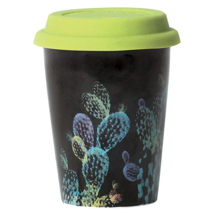 ลูลู่ & Georgia Neon Cactus Travel Mug