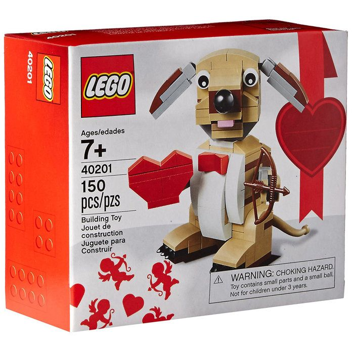 เลโก้ Bricks & More Valentines Cupid Dog