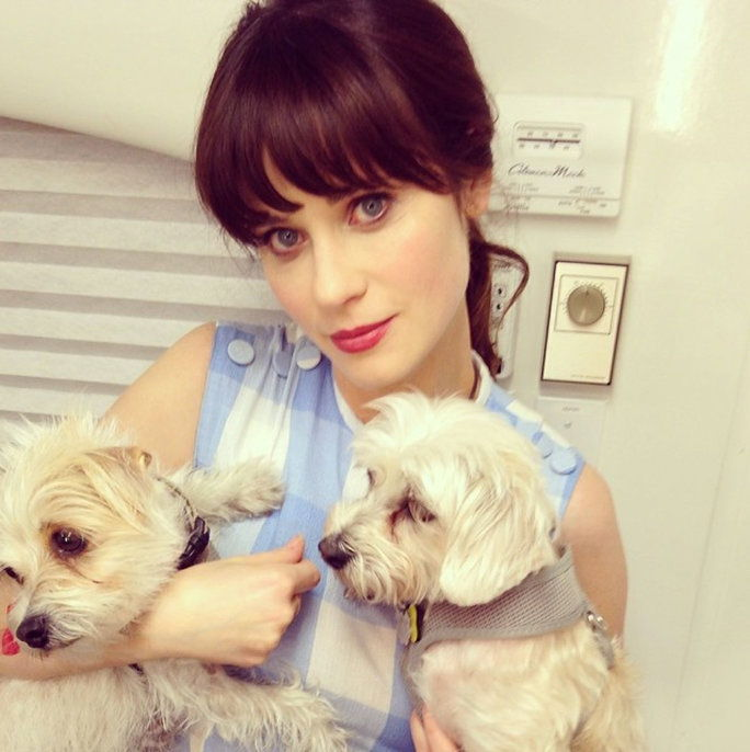 Zooey Deschanel, Dot and Zelda