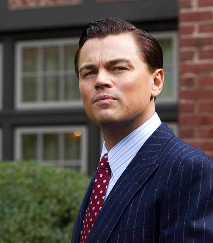 WOLF OF WALL STREET, Leonardo DiCaprio, 2013, ph: Mary Cybulski/©Paramount Pictures/courtesy Everett Collection