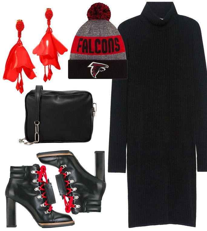 सुपर Bowl Outfit - Falcons
