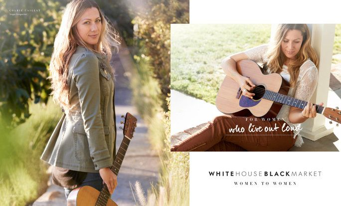 Colbie Caillat - White House Black Market - EMBED
