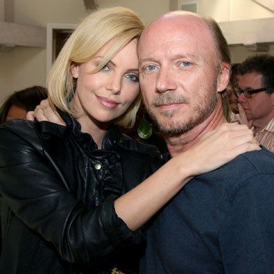 कलाकार की for Peace and Justice Benefit for Haiti - Paul Haggis and Charlize Theron