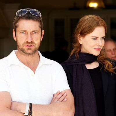 कलाकार की for Peace and Justice Benefit for Haiti - Gerard Butler and Nicole Kidman