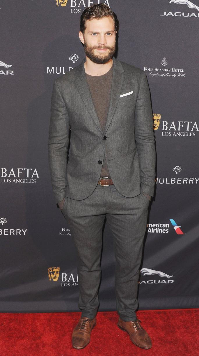 पर the 2015 BAFTA Tea Party