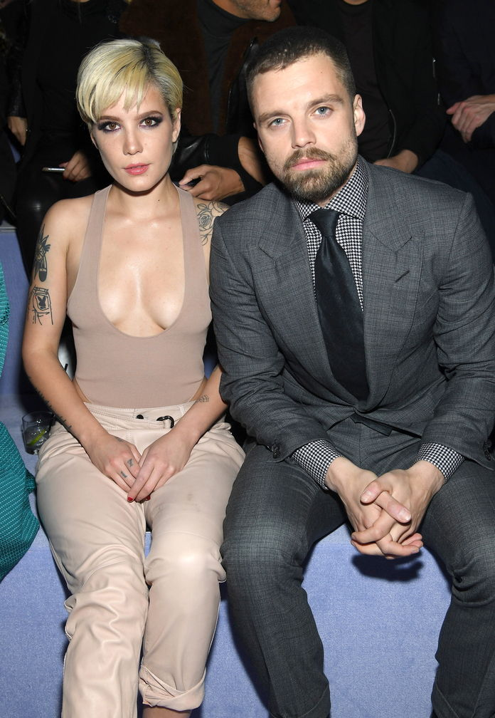 Halsey and Sebastian Stan