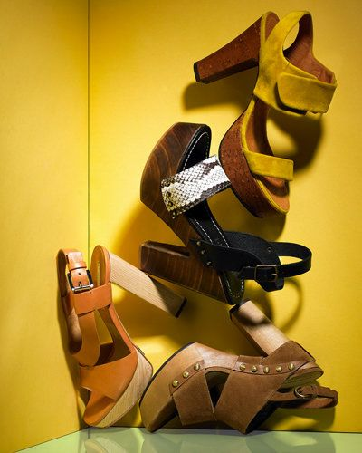 वसंत Accessories - Springs Cutest Shoes - Chunky Platforms - Michael Kors