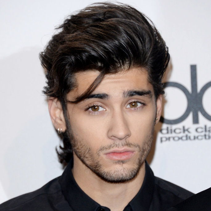 ज़ैन Malik at the American Music Awards in Los Angeles, 2014.