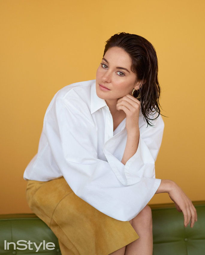Shailene Woodley's Soft-Focus Makeup