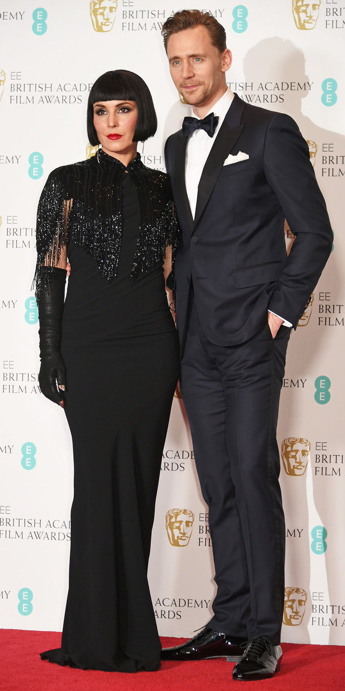 ทอม Hiddleston with Noomi Rapace