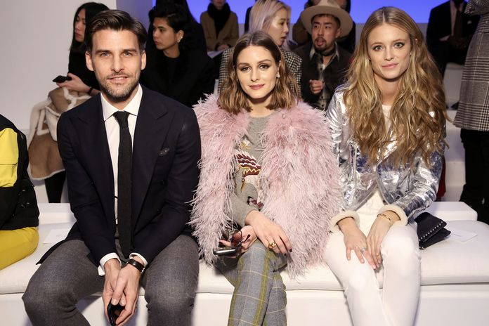 जोहानिस Huebl, Olivia Palermo, and Kate Bock
