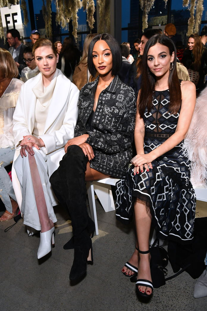 केट Upton, Jourdan Dunn, and Victoria Justice