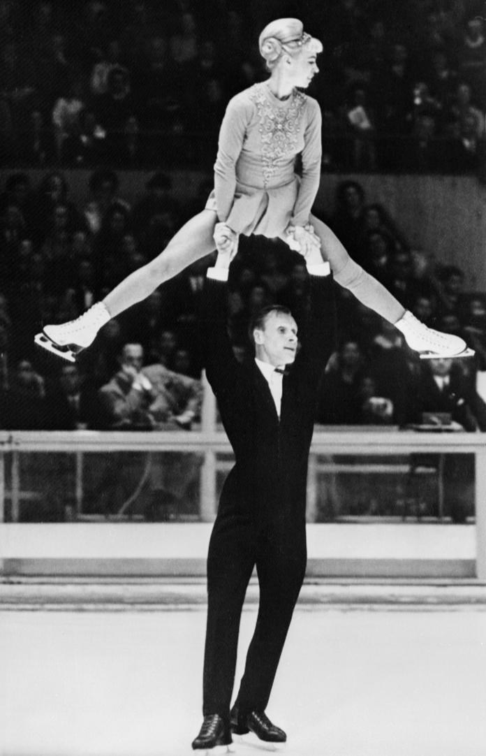 ओलेग and Ludmila Protopopov (1968 and 1964 Olympic Champions)