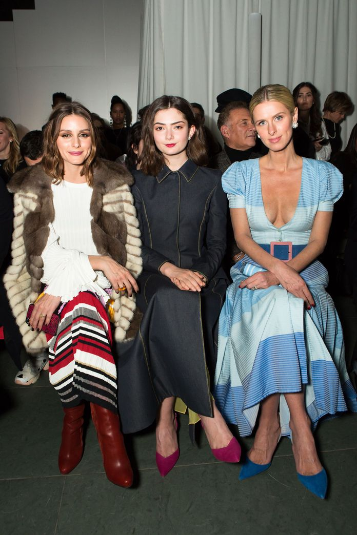 ओलिविया Palermo, Emily Robinson, and Nicky Hilton