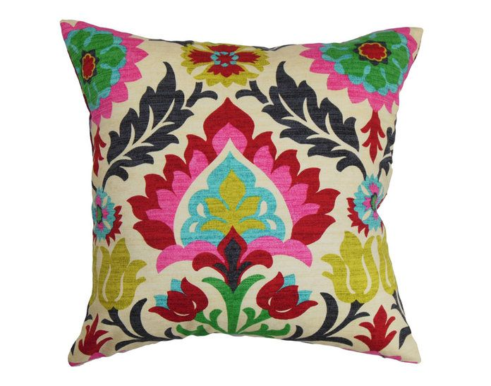 के लिये the Boho Girl: The Pillow Collection Pink Boho Pillow