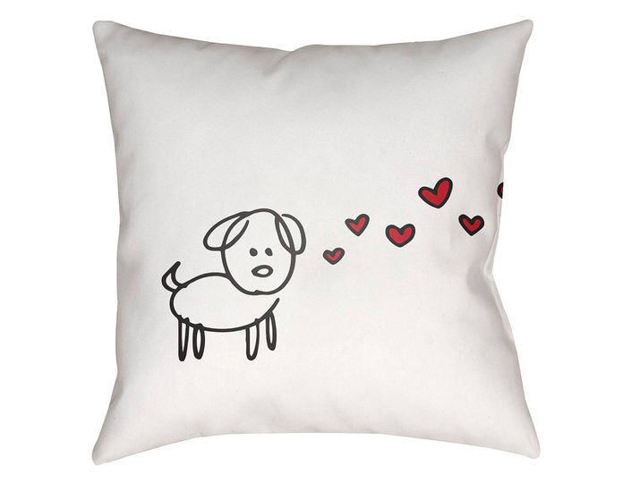 के लिये the Dog Lover: Surya Pawfect Love Pillow