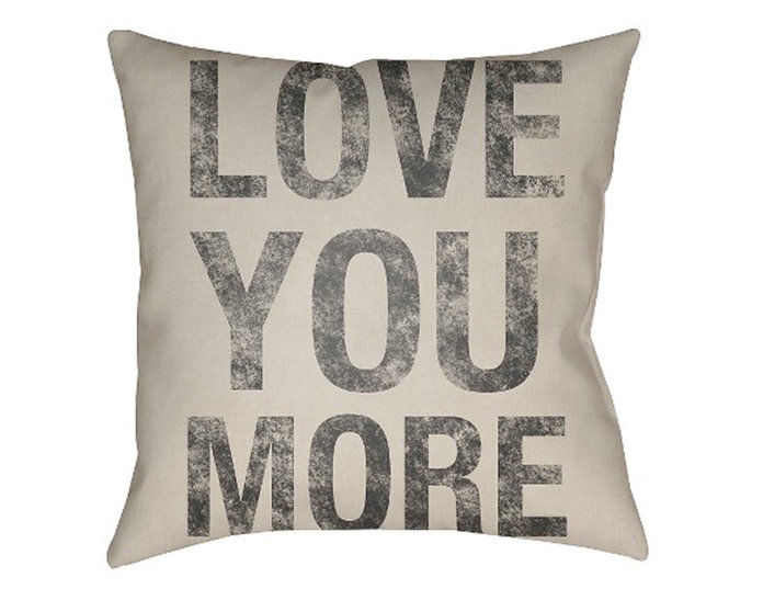 के लिये the Hopeless Romantic: Surya Love You More Pillow