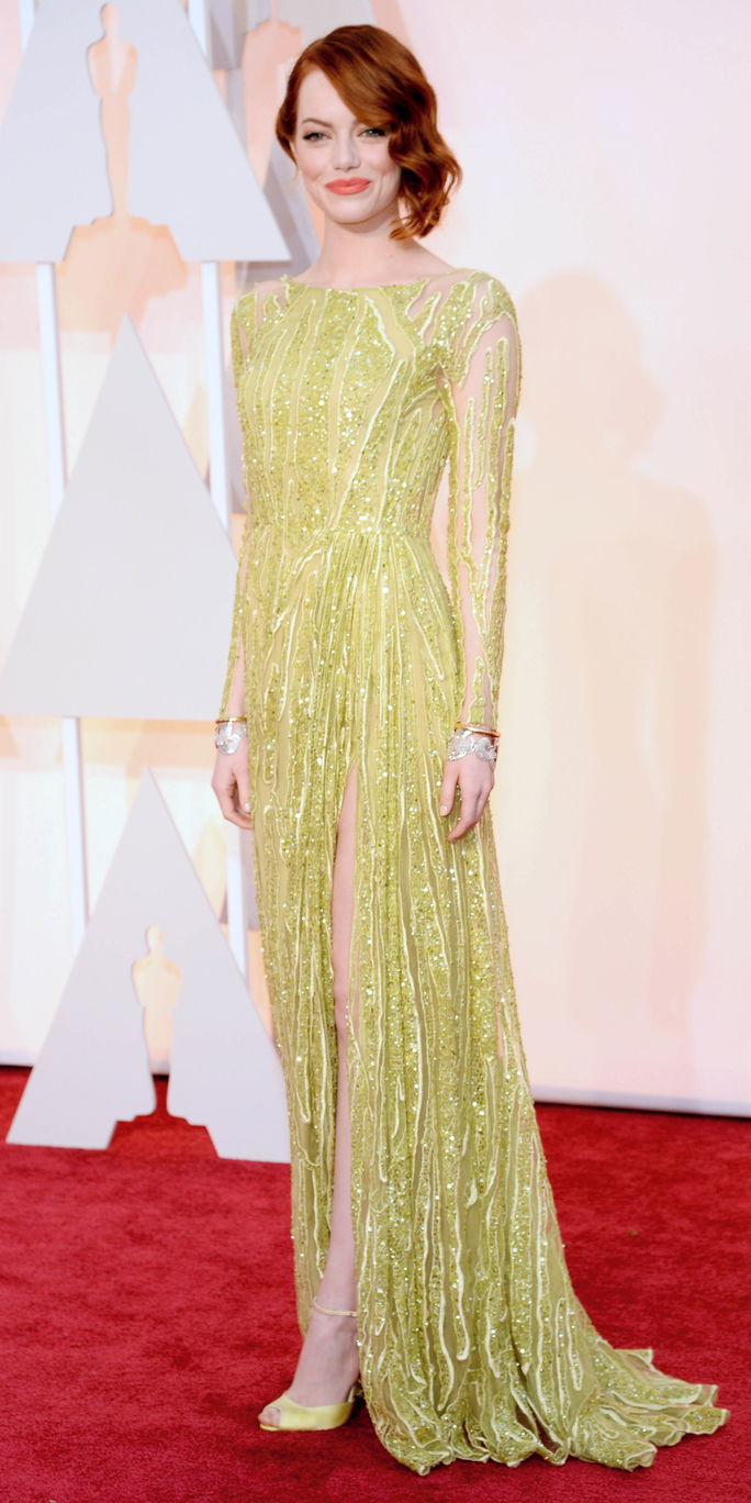 87 वें Annual Academy Awards - Arrivals Emma Stone