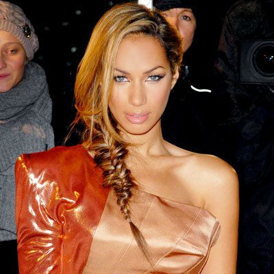 Leona Lewis-Sam Cooke-hair-braid-updo