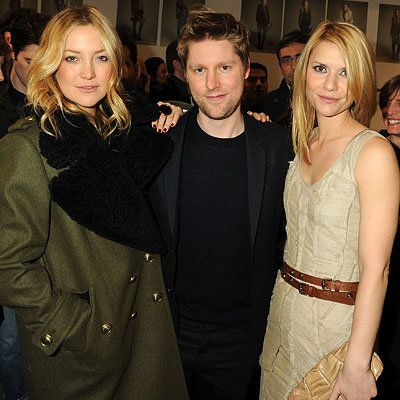 केट Hudson, Christopher Bailey and Claire Danes