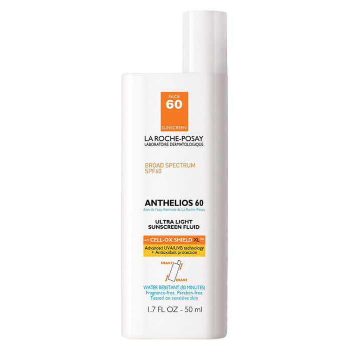 ลา Roche-Posay Anthelios 60 Ultra Light Facial Sunscreen SPF 60