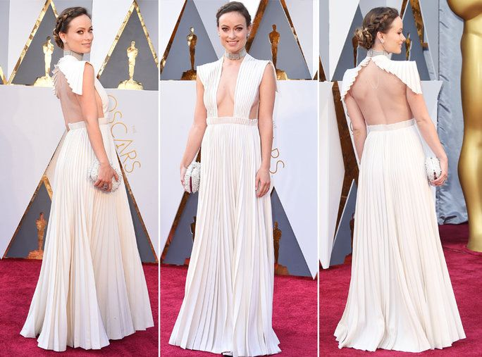 चोटी Searched Oscar Dresses - Olivia Wilde