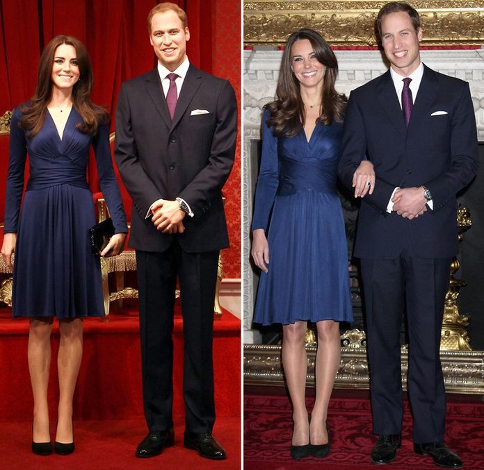 राजकुमार William and Kate Middleton