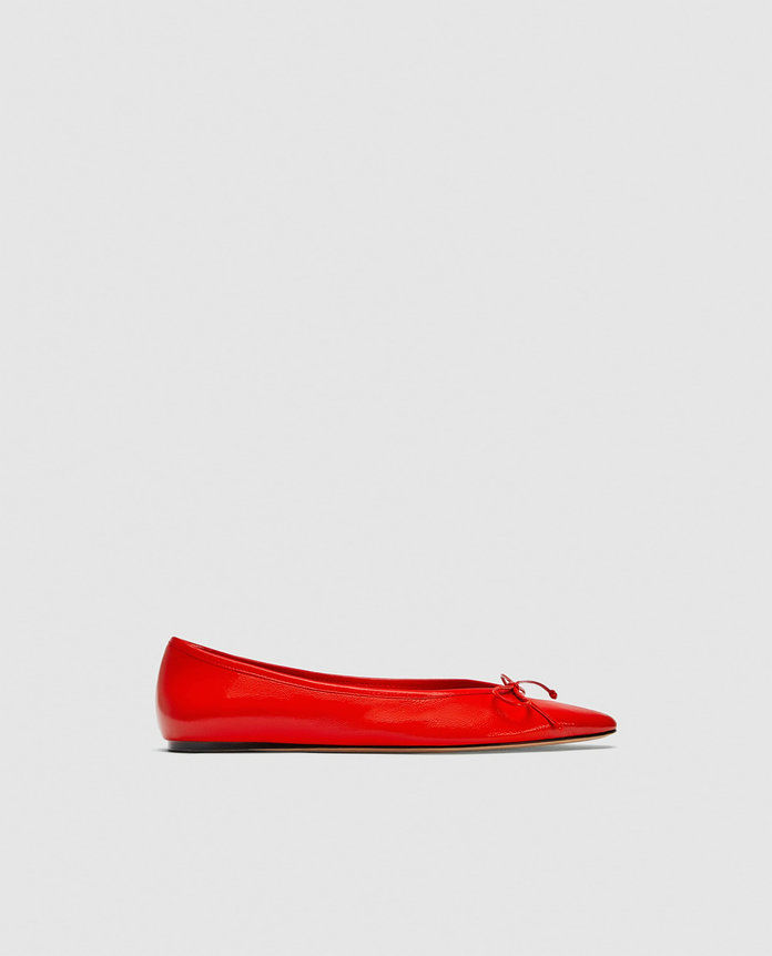 क्लासिक Red Pointed Toe Pump