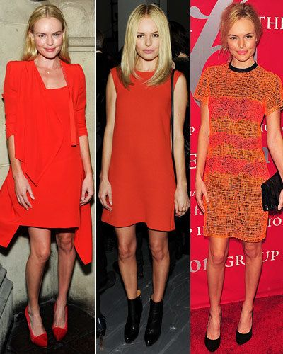 केट Bosworth - Stars' Signature Colors - Orange - Vanessa Bruno - Calvin Klein Collection - Proenza Schouler