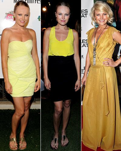 मालिन Akerman - Stars' Signature Colors - Yellow - ASOS - Joanna August